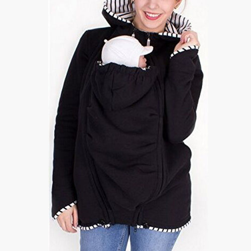 Maternity Hooded Colouring Long Sleeve Sweatshirts