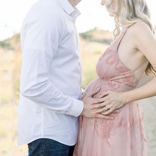 Load image into Gallery viewer, Maternity Sling - Printed Photoshoot Dress