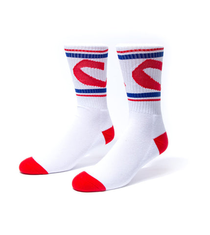 Chunk C Stripe Socks