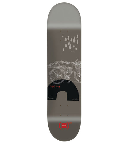 (Chocolate)RED Elijah Berle Deck designed by Evan Hecox