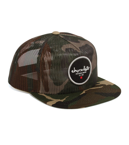 Chocolate 5-Panel Mesh Trucker