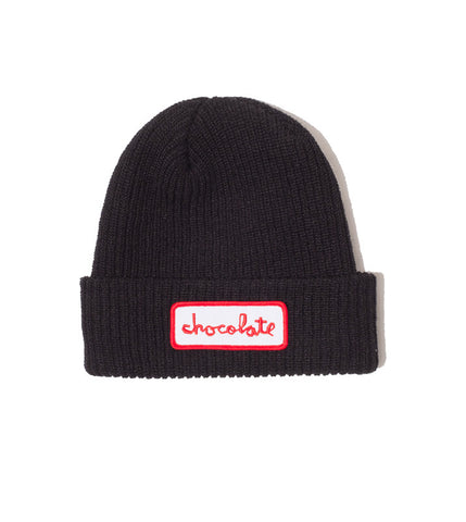Chunk Patch Fold Beanie