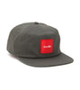 Red Square 5 Panel Snap Back