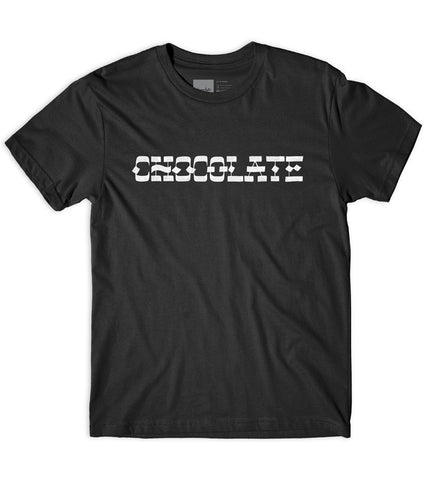 Hand Lettered Chocolate Tee