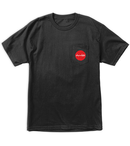 Red Dot Pocket Tee