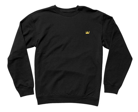 Crown Embroidered Crew