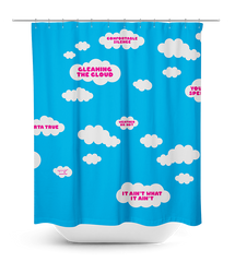 Cloudy Morning Shower Curtain