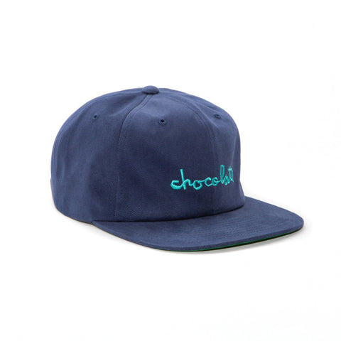 Chocolate Chunk 6 Panel Strapback