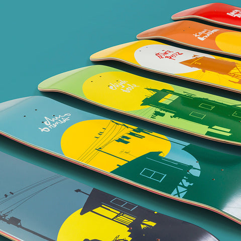 Chocolate Skateboards Crail Classics Sun Full Series