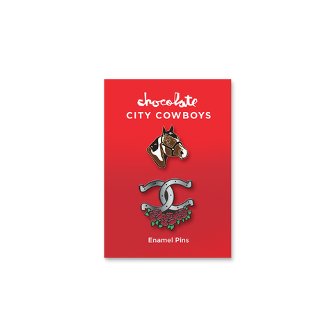 City Cowboys Pin Set