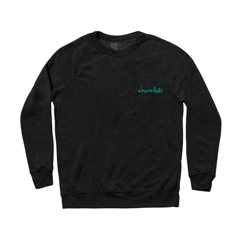 Mini Chunk Embroidered Crew