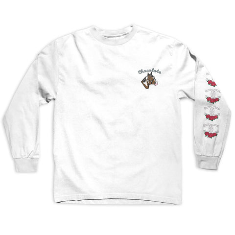 Chocolate Stable Longsleeve Tee