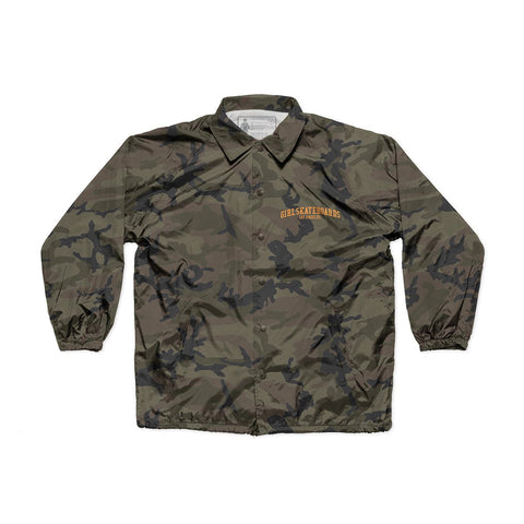 Arched LA Camo Coaches Jacket
