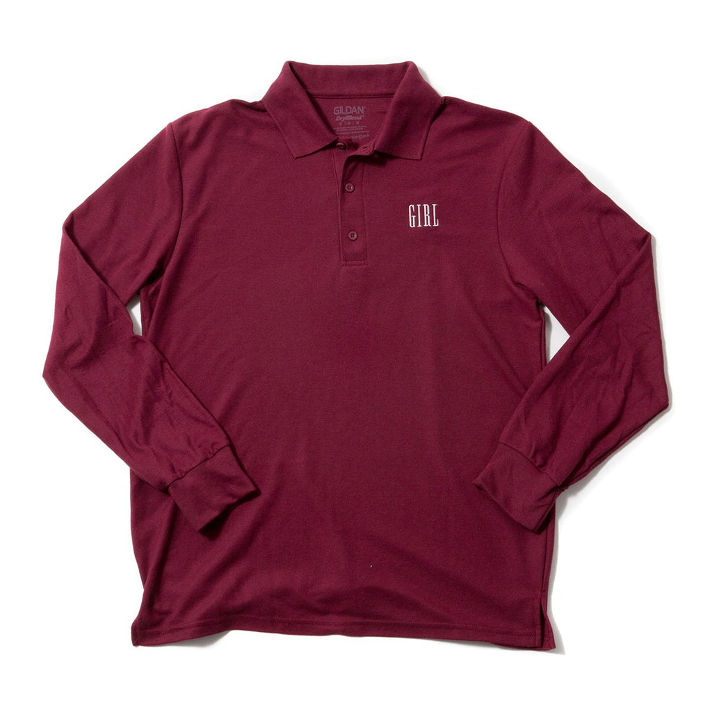 Campus Embroidered L/S Polo