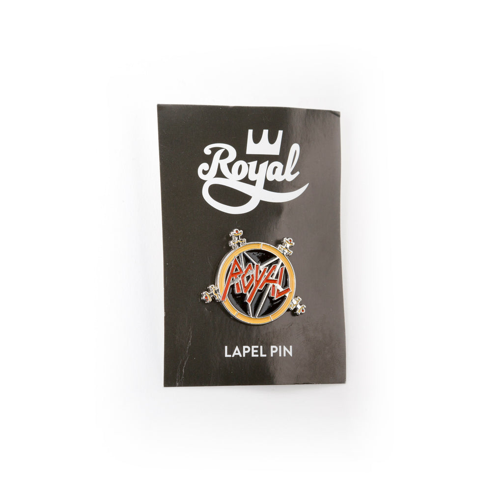 Royal Metal Enamel Pin