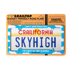 Crailtap License Plate Frame