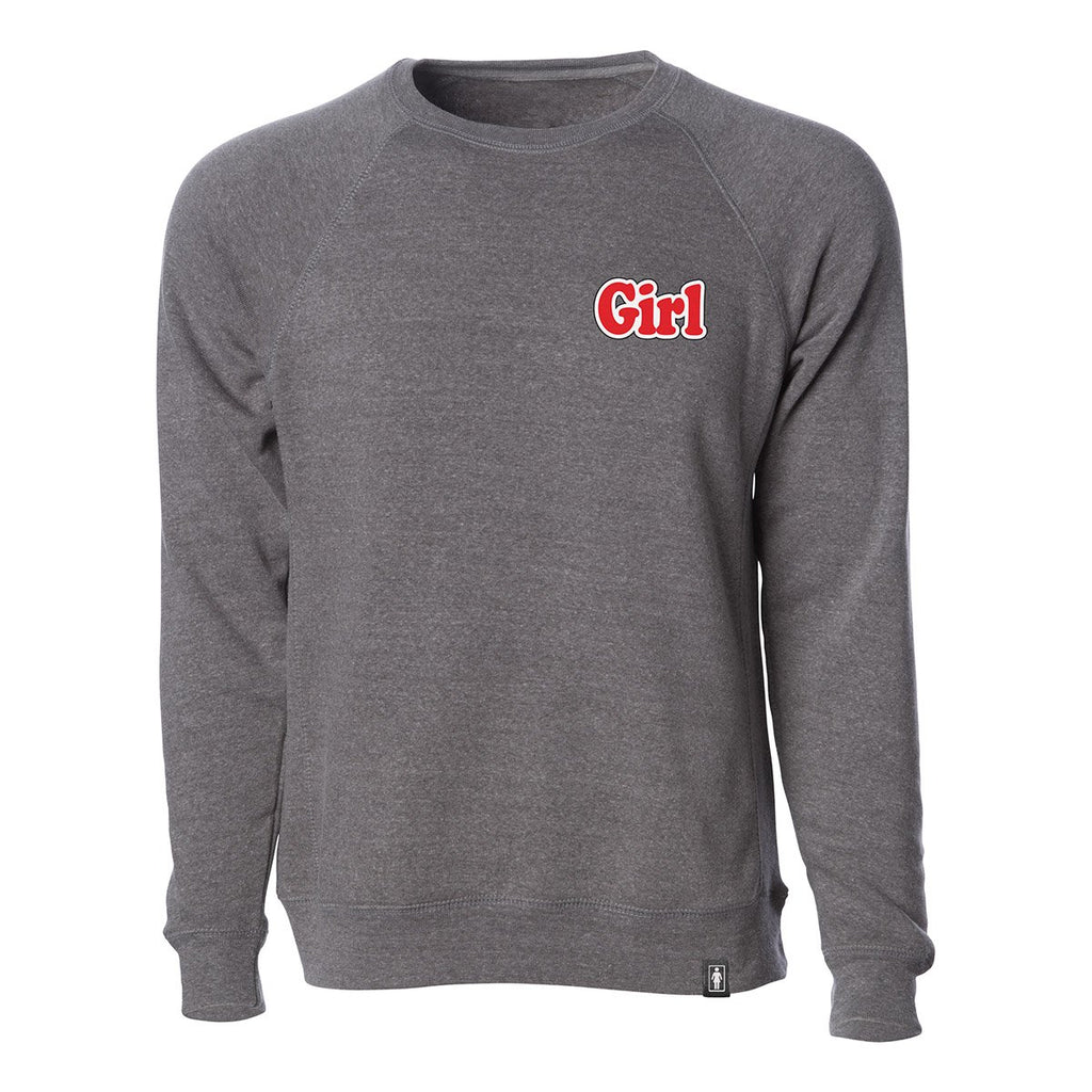 Orphan Raglan Crew Fleece