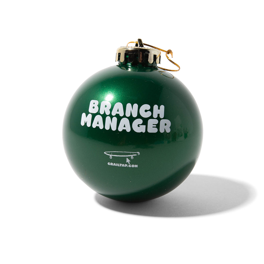 Branch Manager Ornament