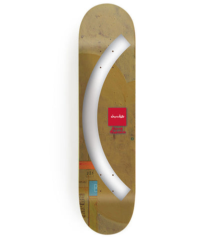 (CHOCOLATE)RED Kenny Anderson Deck designed by Andy Jenkins