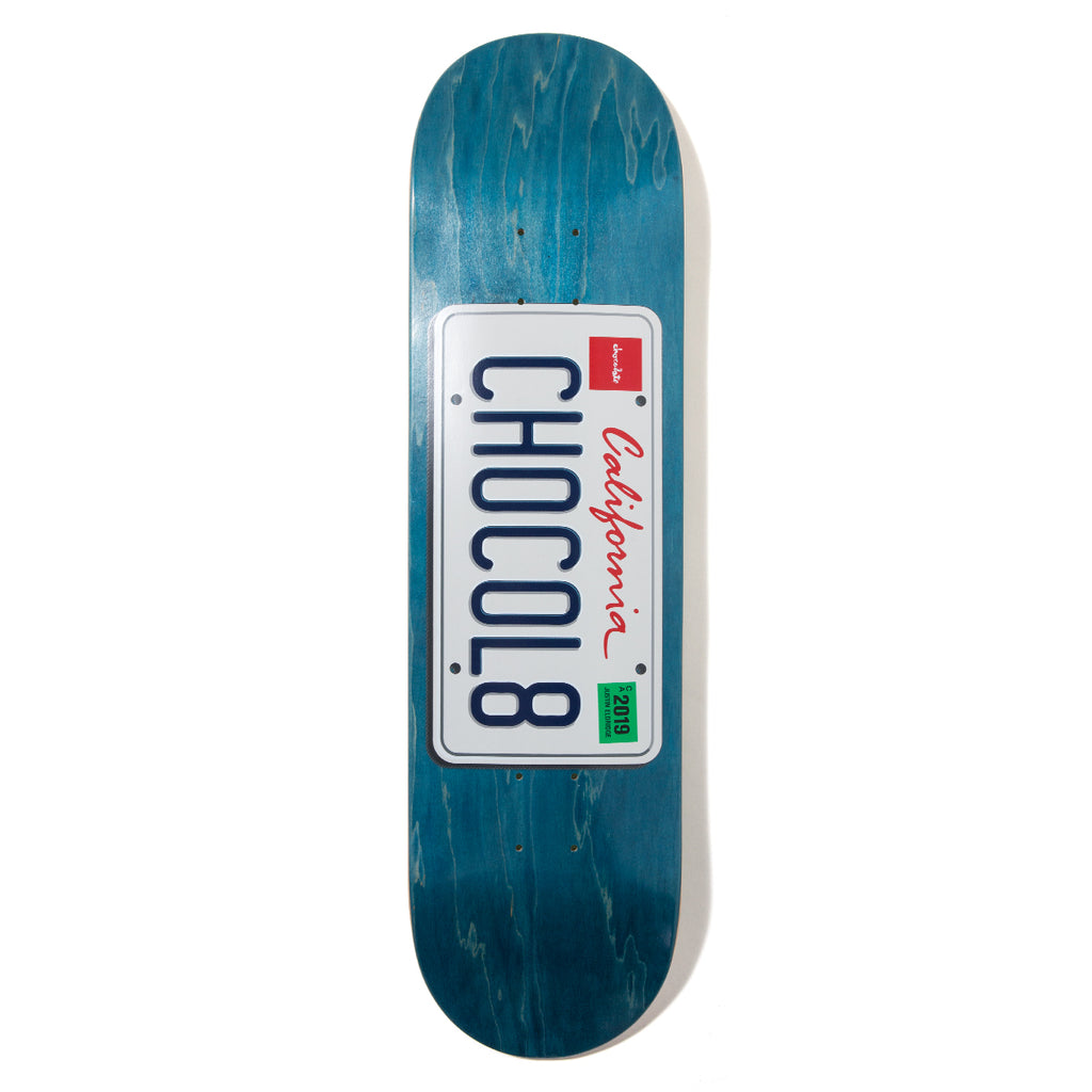 Eldridge License Plate Deck