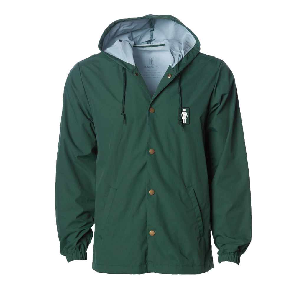 OG Hooded Coaches Jacket