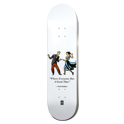 Pacheco Good Time White Deck