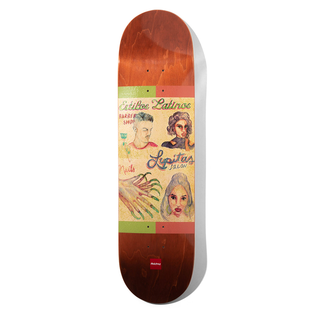 Perez Chocolate Cuts Deck