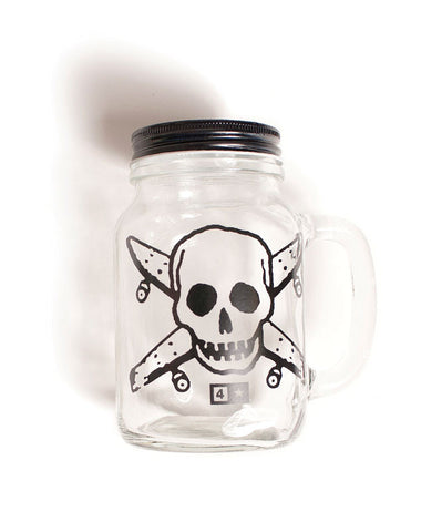 Pirate Mason Jar