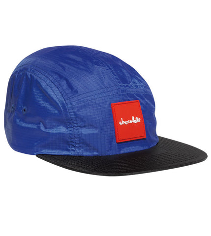 Red Square 5-Panel Camper Hat