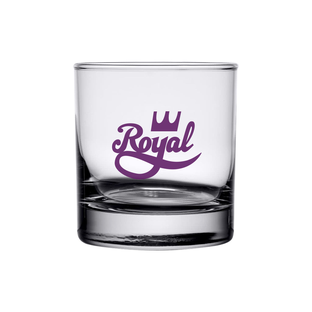 Royal Crown Low Ball Glass