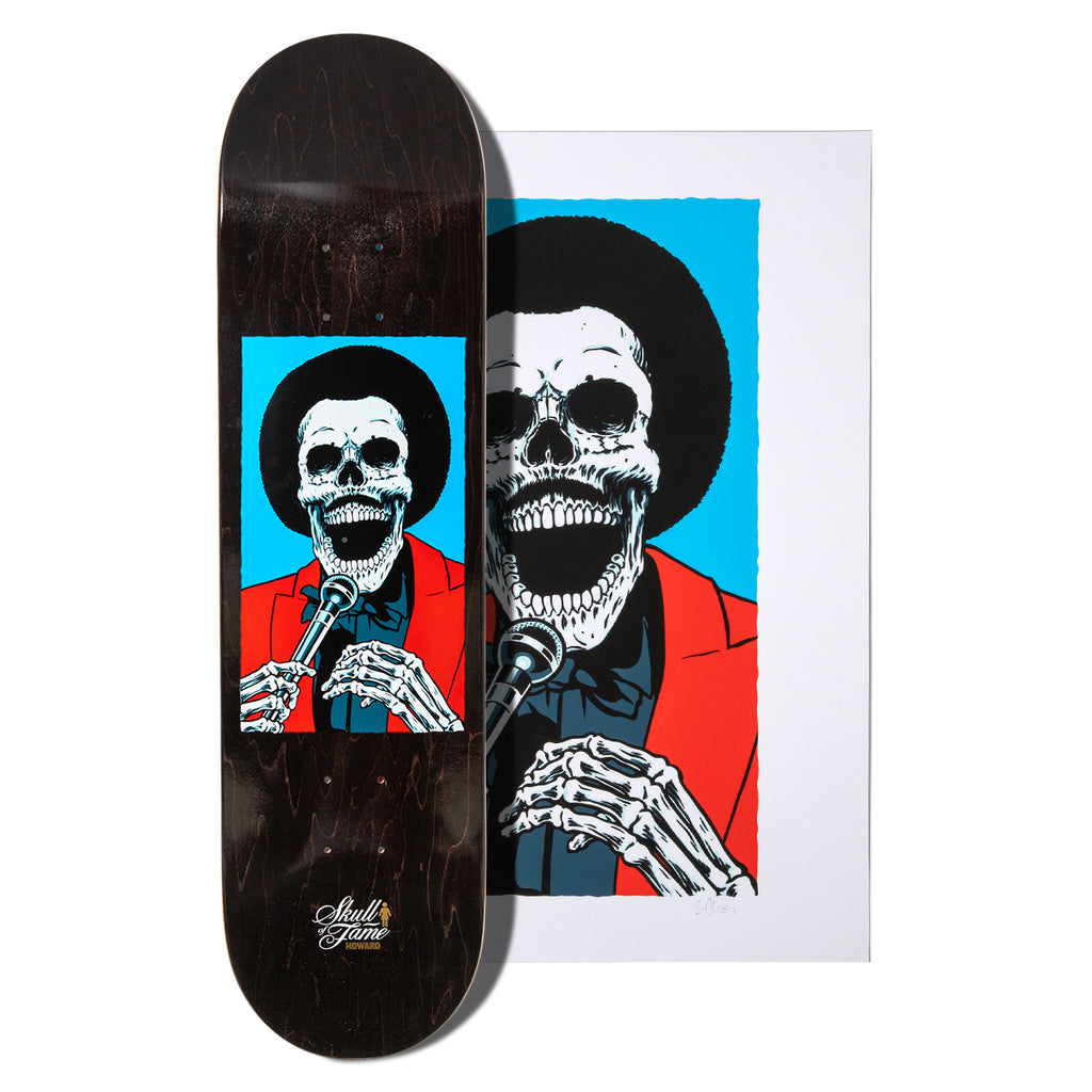 Howard Skull of Fame Deck and Print