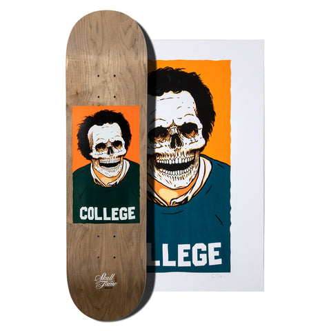 Malto Skull of Fame Deck and Print