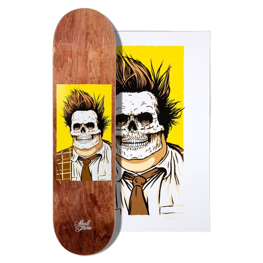McCrank Skull of Fame Deck and Print