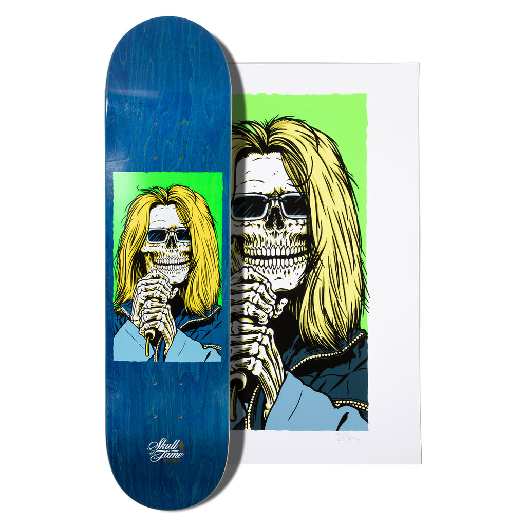 Pacheco Skull of Fame Deck and Print