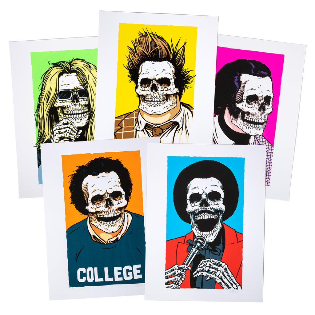 Skull of Fame Prints Set