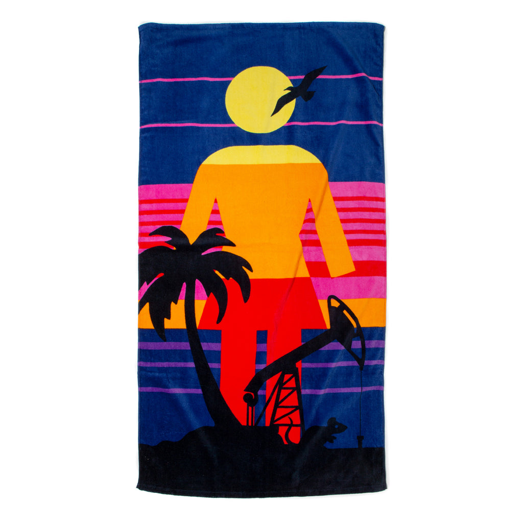 Rat Beach Towel