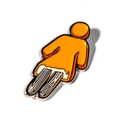 Creamsicle Enamel Pin