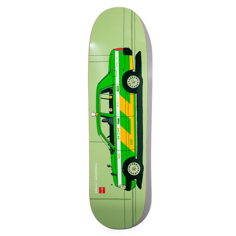 Anderson World Taxis Skidul Deck