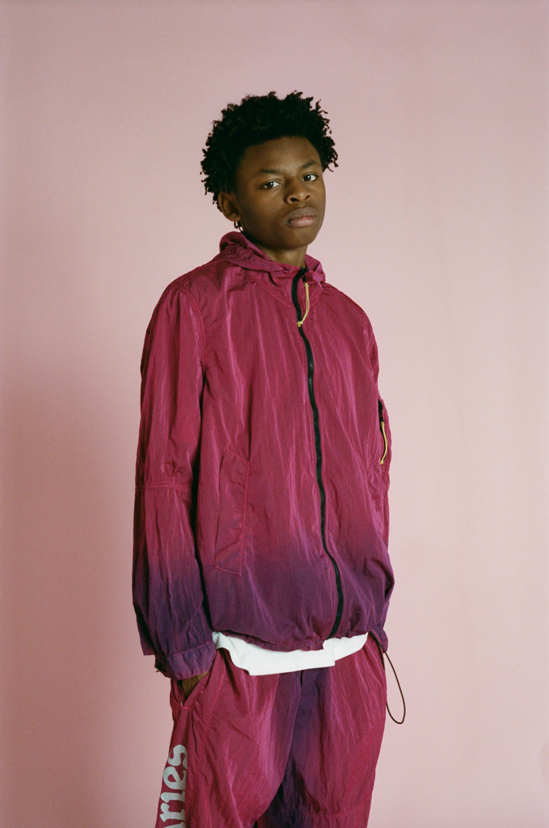 Load image into Gallery viewer, Ombré Dyed Windcheater Jacket