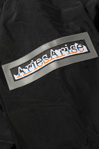 Aries Web Special Reversible Abstract Fleece Parka