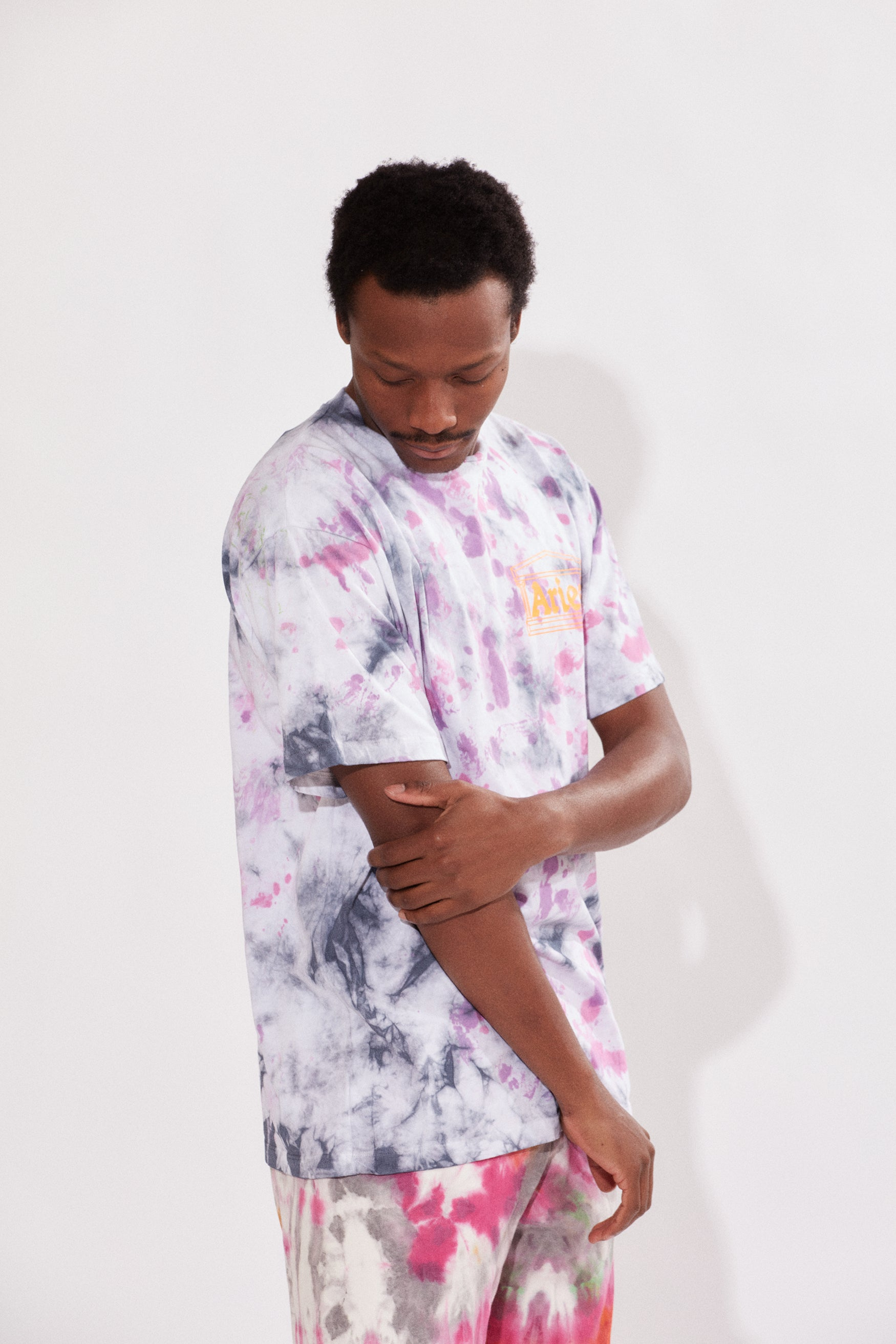 Load image into Gallery viewer, Temple SS Tee Tie Dye