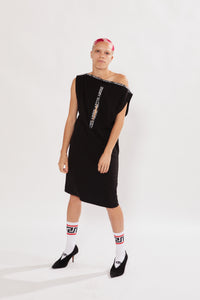 Logo Zip Dress
