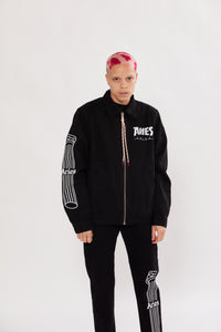 Column Zip Through Jacket