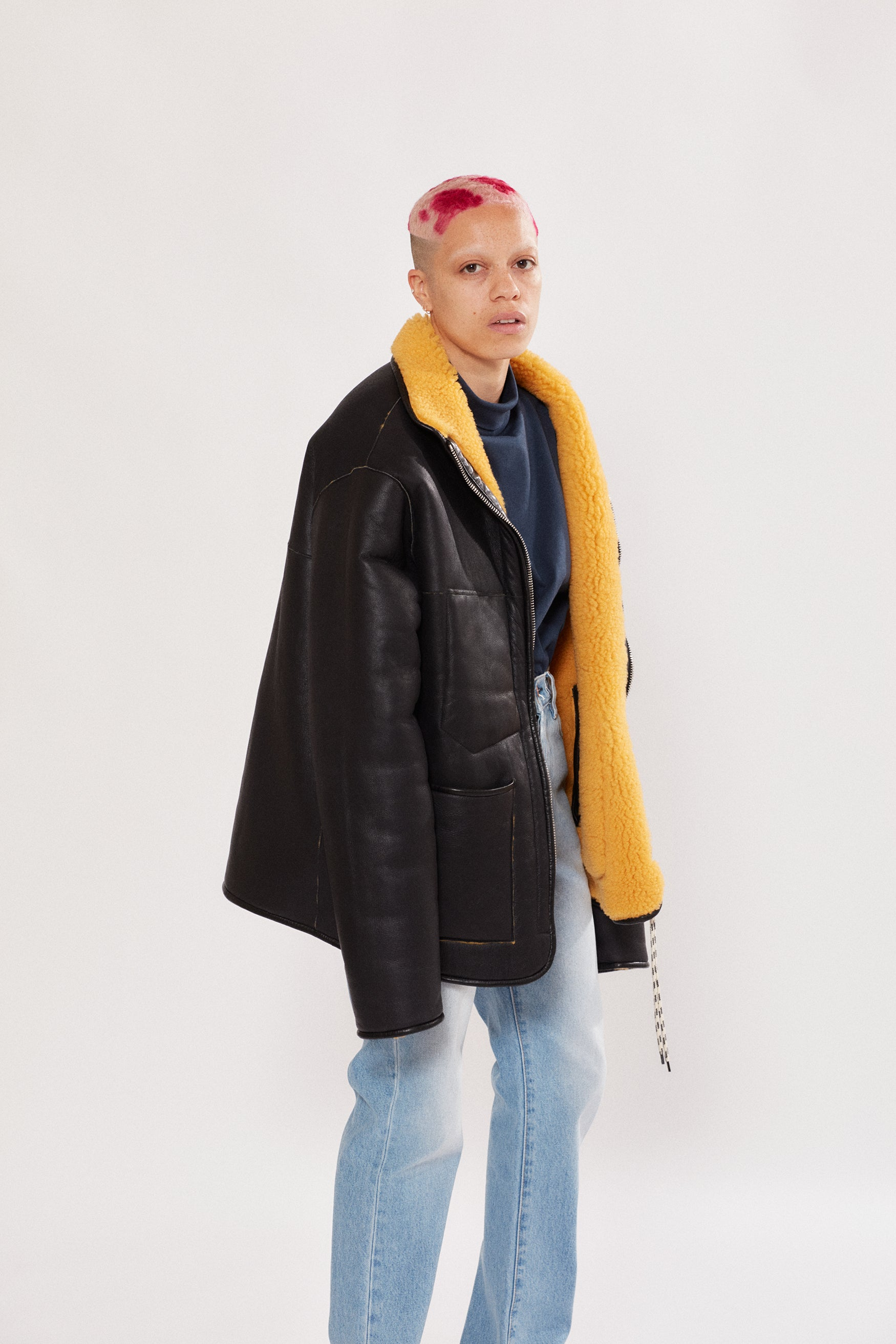 Load image into Gallery viewer, Sheepskin Pat Jacket