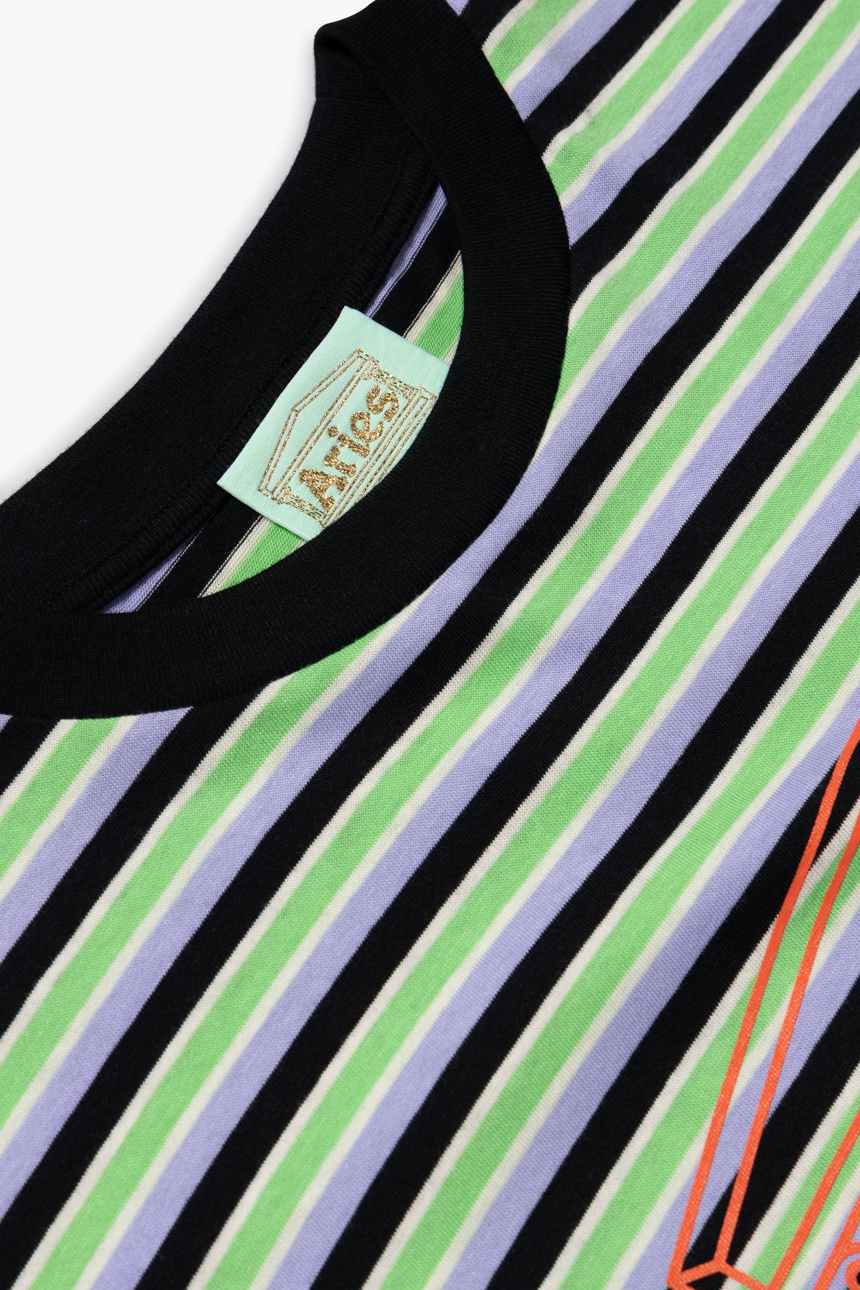 Load image into Gallery viewer, Striped Temple Tee