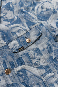 Denim Sculpture Rider Jacket