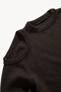 Shoulder Hole Lambswool Knit