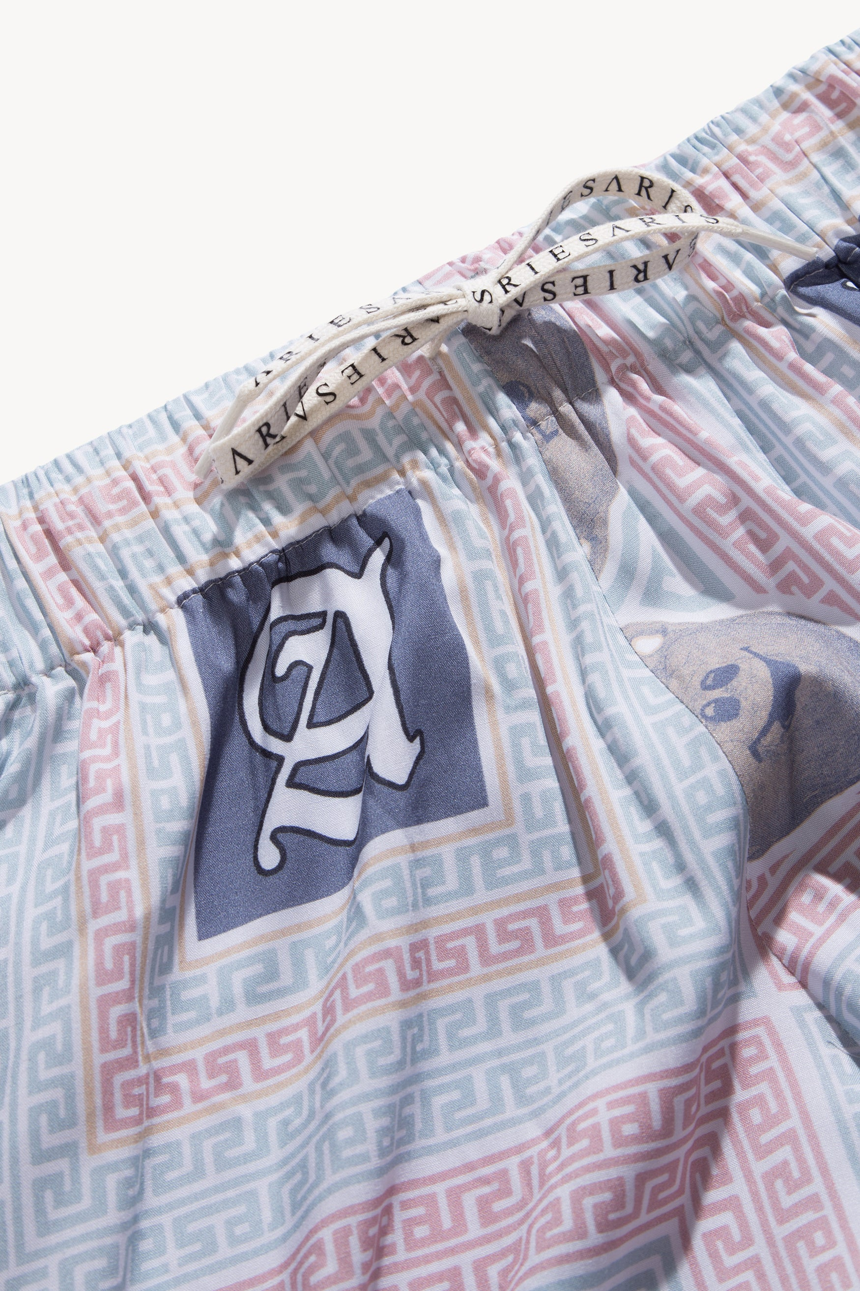 Load image into Gallery viewer, Scarf Print Pyjama Trouser