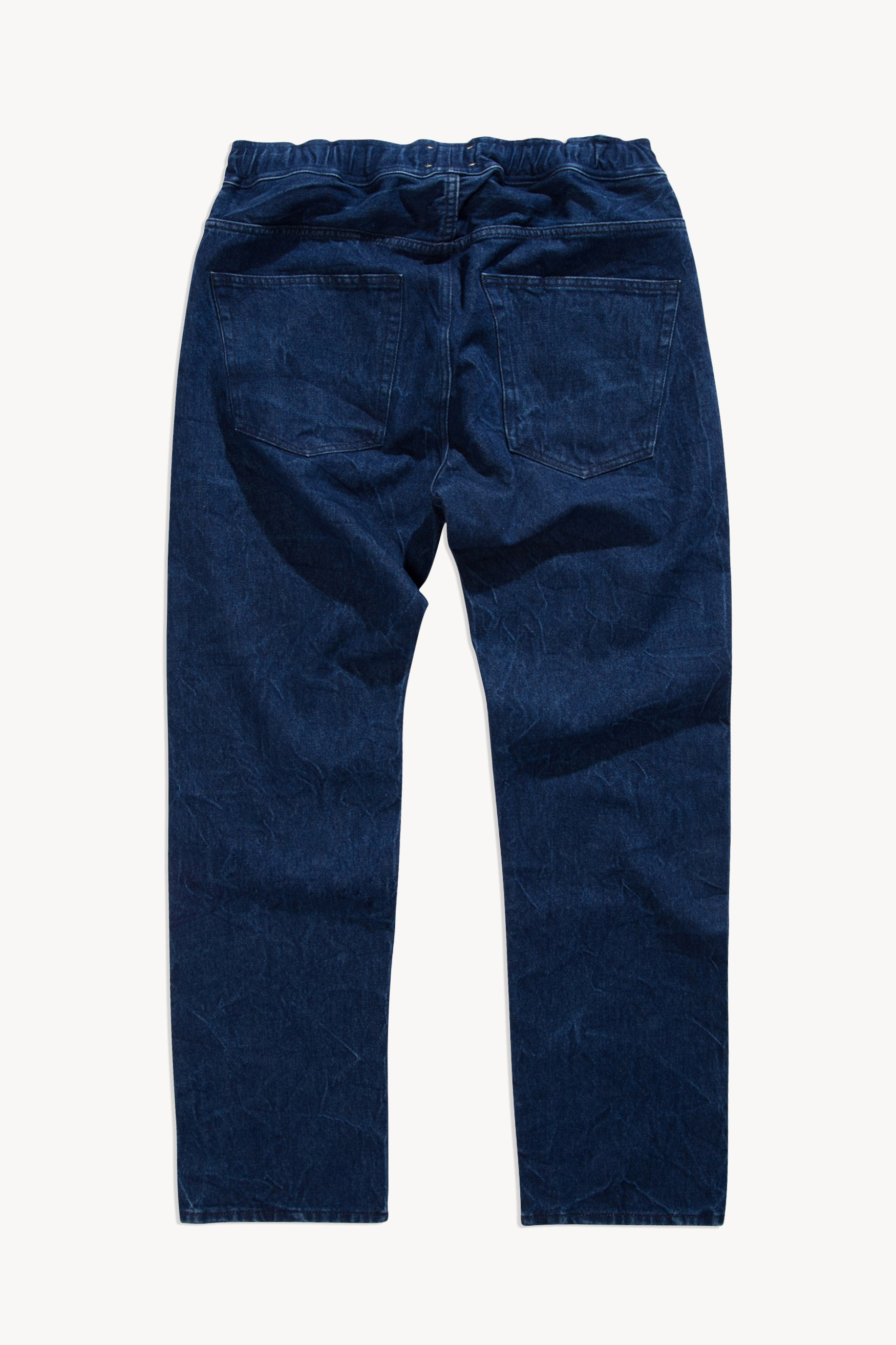 Load image into Gallery viewer, Elastic Waistband Batten Jeans