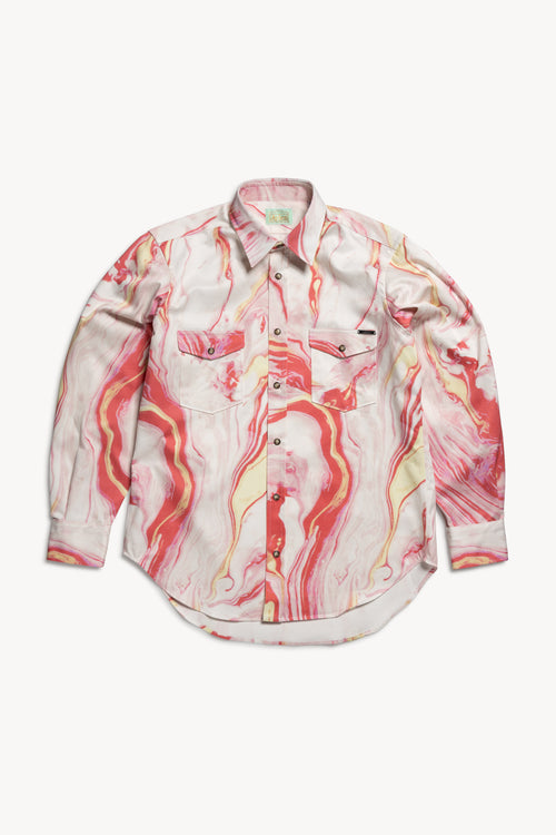 Marble Western Shirt